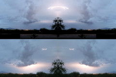 Lightening Collage During Arizoina Moonson