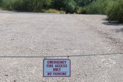 Fire Access Sign