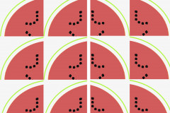 Slices Of Watermelon Pattern_1