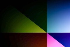 Rectangles Triangles Colorized