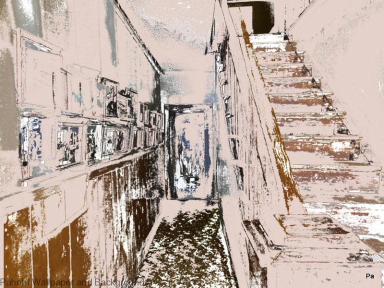 Southwest Wallpapers - Stagecoach Inn Abstract