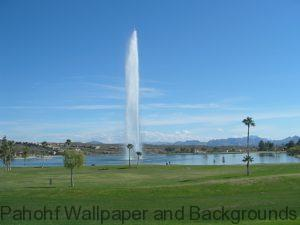 Stock Backgrounds wallpapers - Fountain in Fountain Hills AZ